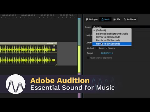 Adobe Audition CC Essential Sound for Music