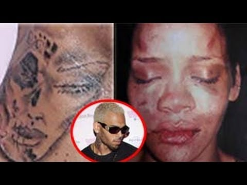 Chris Brown's SHOCKING Rihanna Tattoo