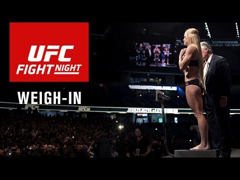 Fight Night Chicago: Official Weigh-in
