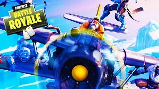 GOOFIN' AROUND WITH FORTNITE PLANES!