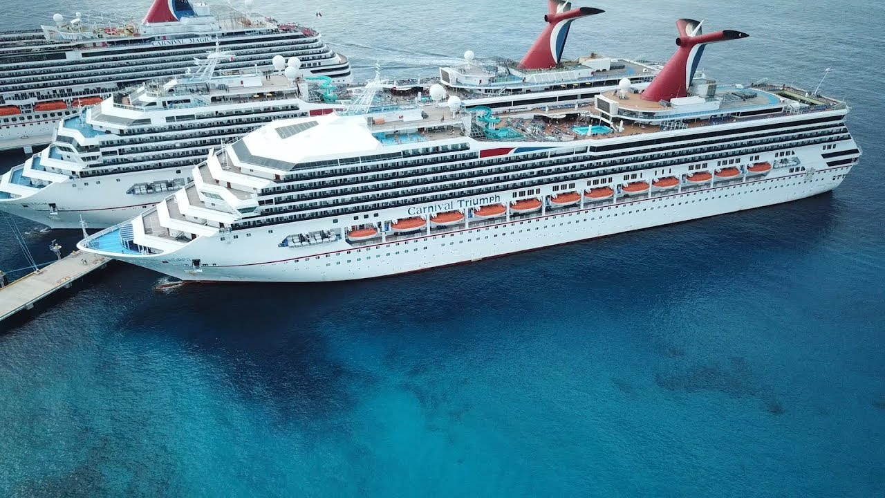 Carnival Triumph Mexico Cruise New Orleans Cozumel Progreso Youtube