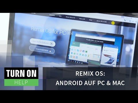 Remix OS: Android auf PC & Mac nutzen - TURN ON Help - 4K