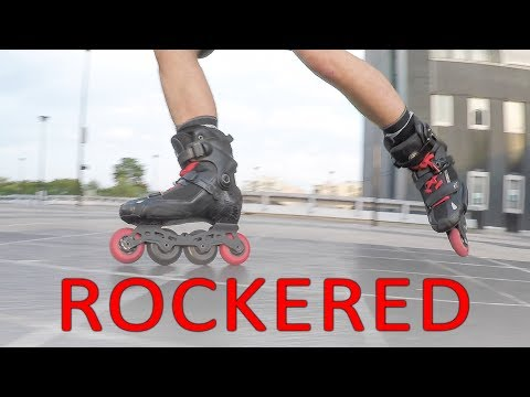 HOW TO SKATE WITH FULL ROCKERED SKATES