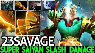 23SAVAGE [Juggernaut] Super Saiyan Damage Top Pro Carry 7.22 Dota 2