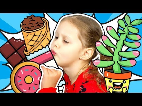 We Have Broken a Flower The Kid On a Diet and Talent! Collection video with Amelka Karamelka