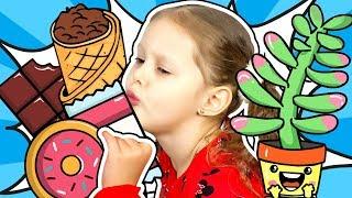 РАЗБИЛИ Цветок Малыш На Диете и Талант! Лучшие видео Сборник видео с Амелькой Карамелькой Kids Video