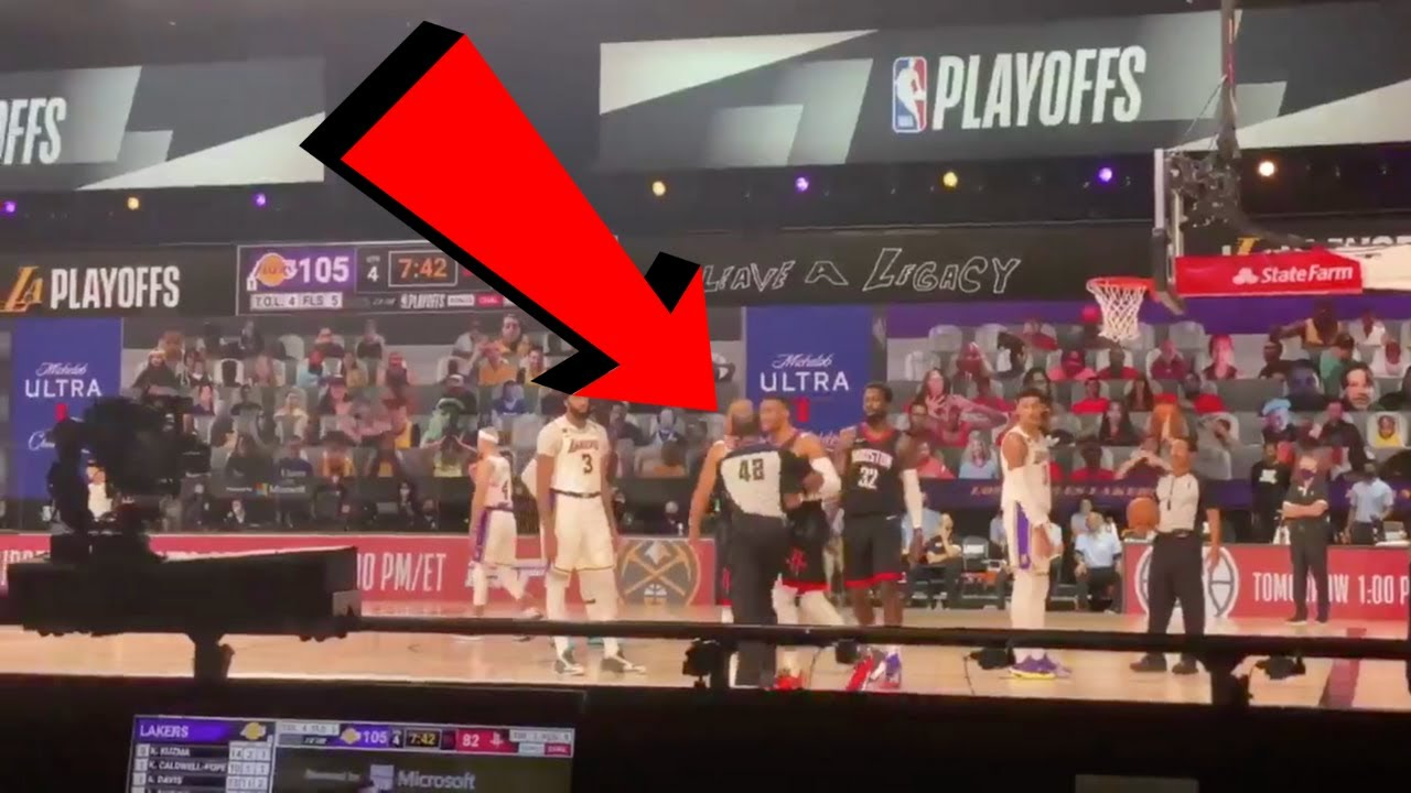 Russell Westbrook GETS HEATED at Rajon Rondo's BROTHER on sidelines Court View (EXLUSIVE FOOTAGE)