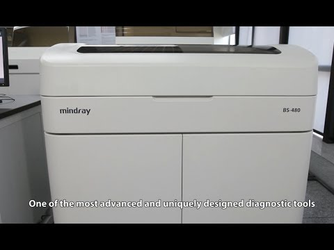 Mindray BS-480 Clinical Chemistry Analyzer