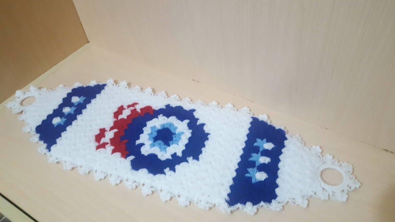 Mavi Tomurcuklu Uzun Lif Modeli Yapılışı Anlatımlı Videolu