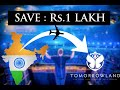 India To TOMORROWLAND   Cheapest Budget   Full Info   Lets Travel