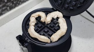 Beef tripe with waffle maker |…