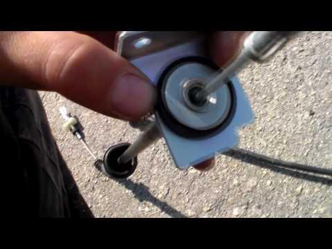 ВАЗ 2110. Как я менял тросик сцепления.