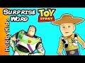Toy Story Surprise Word! Buzz Lightyear Rocket Ship Ride + Hulk Lego Build Fun Toys Hobbykidstv video