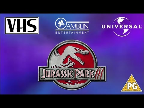 Opening to Jurassic Park 3 UK VHS (2002)