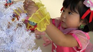 HUGっと!プリキュア 変身プリチューム キュアエールになってクリスマスツリーの飾りつけで英語の色を覚えよう!Hugtto Precure