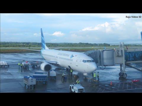 Penerbangan Sorong - Jakarta Bersama Garuda Indonesia GA683 Pesawat Boeing 737-800 PK-GMX