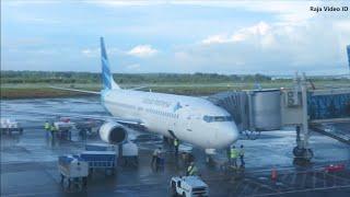 Gambar cover Penerbangan Sorong - Jakarta Bersama Garuda Indonesia GA683 Pesawat Boeing 737-800 PK-GMX