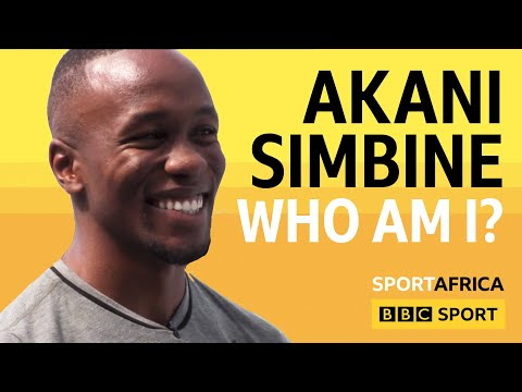 Akani Simbine shows us his favourite tattoo - BBC Sport Africa