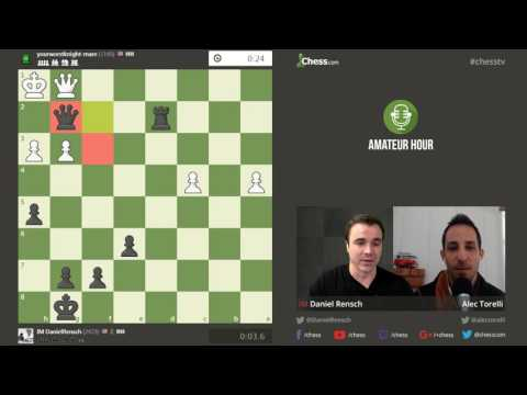 Chess Analysis for Amateurs with Alec Torelli