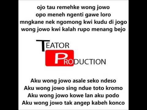 Jawa hip hop - Mboiss ben mbinger aku wong jowo (lirik)
