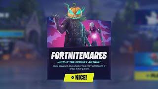 All Fortnitemare 2021 Quęsts Guide (Fortnitemares Event) - Fortnite