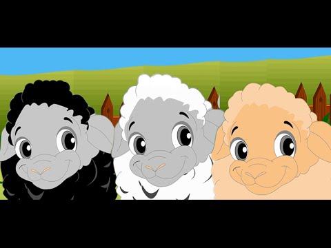 Baa Baa Black Sheep - Full Nursery Rhyme With Lyrics for Karaoke [Full HD]