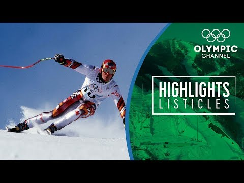 5 Courageous moments in Oylmpic Alpine Skiing | Highlights Listicles