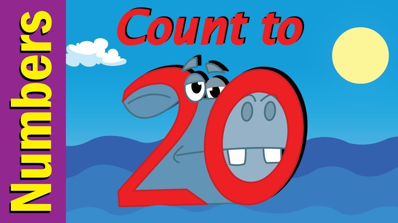 Count to 20 Number Song for Children | Count 1-20 | Kindergarten ...