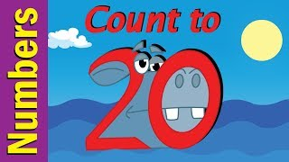 Count to 20 Number Song for Children | Count 1-20 | Kindergarten, Preschool & ESL | Fun Kids English