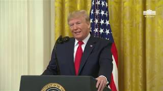 President Trump Delivers Remarks on Federal Judicial Confirmation Milestones