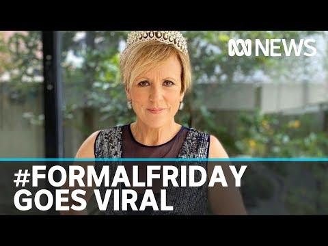 Coronavirus Pandemic Fuels #FormalFriday Going Viral On Social Media | ABC News
