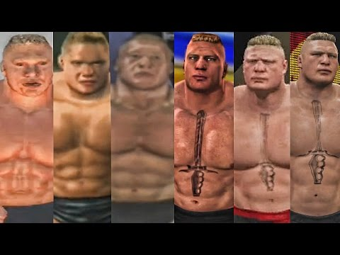 WWE 2K17 - Brock Lesnar Entrance Evolution! ( Shut Your Mouth To WWE 2K17 )