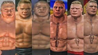 WWE 2K17 - Brock Lesnar Entrance Evolution! ( Shut Your Mouth To WWE 2K17 )