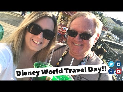Disney World Travel Day and Boardwalk Villa Room Tour March 2017
