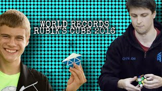 WORLD RECORDS RUBIK'S CUBE 2016 WCA OFICIAL