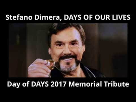 DAYS OF OUR LIVES cast remembers JOSEPH MASCOLO Steo; Day of DAYS 2017