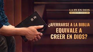 """Fragmento 4 de película evangélico """"La fe en Dios"""": ¿Aferrarse a la Biblia equivale a creer en Dios? (Español Latino)"""