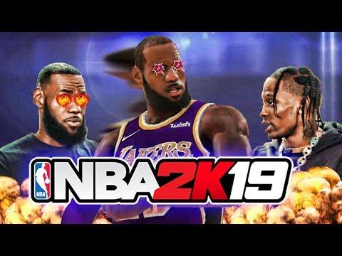 NBA 2K19 EXCLUSIVE INTERVIEW W/ LEBRON JAMES & TRAVIS SCOTT ! NBA 2K19 SOUNDTRACK LEAKED !