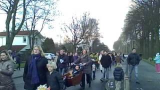 Lampionnenoptocht Oegstgeest 31 januari 2010.  www.leidseglibber.nl