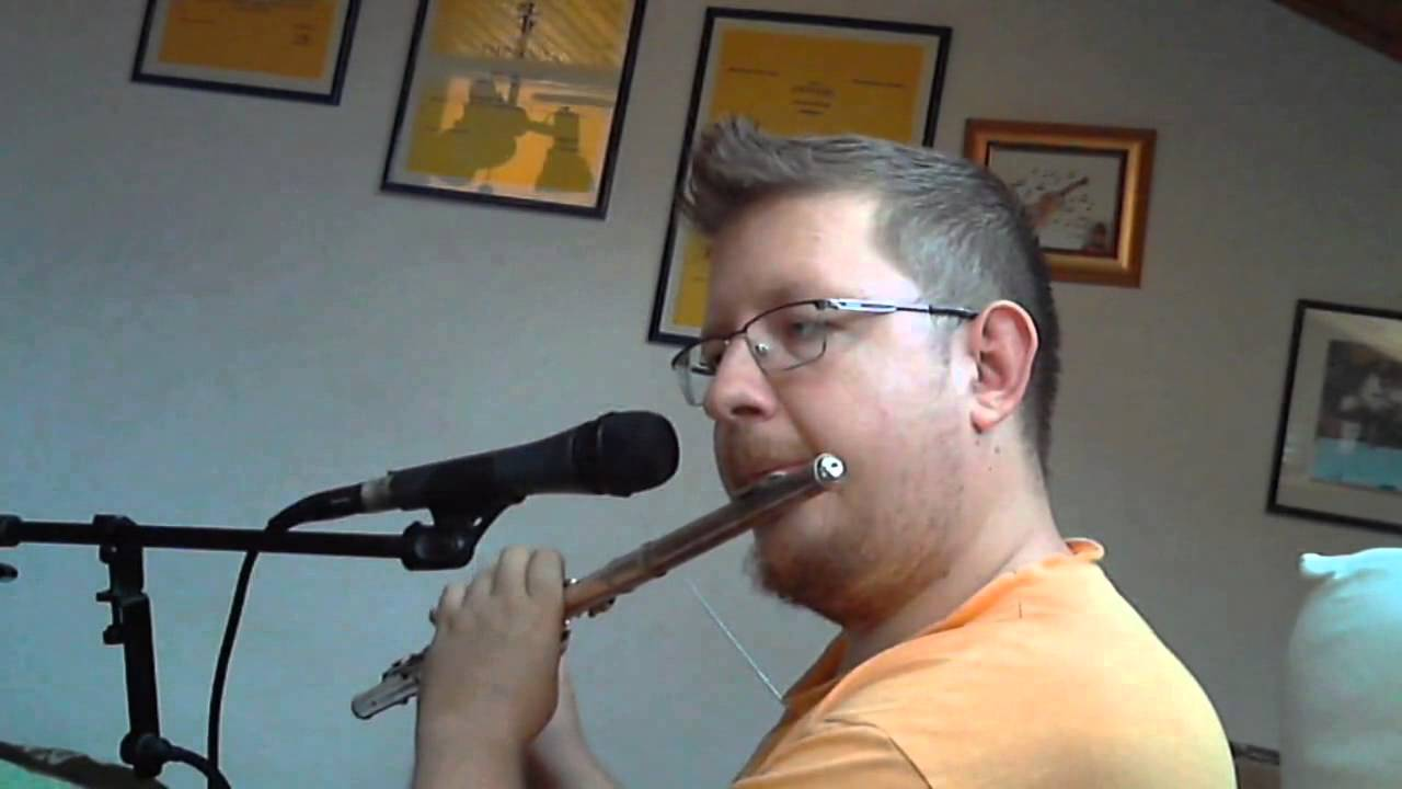 The Dark Island - flute solo cover