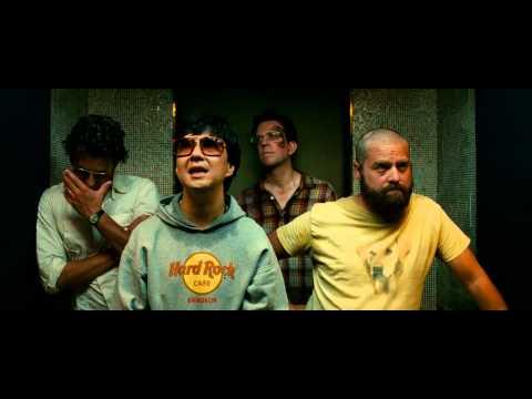 The Hangover II Mr Chows Song Elevator Scene [Blu ray HD]