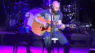 """Over You (Acoustic)"" Daughtry@SECU Arena Towson, MD 12/13/14 Mistletoe Meltdown"