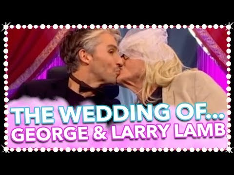 Larry Lamb Is Less Than Impressed With The Wedding Photos...*We Can't Watch*  Celeb Juice 2017
