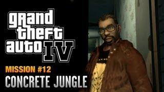 GTA 4 - Mission #12 - Concrete Jungle (1080p)