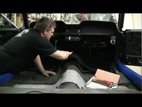 Episode 61 Classic and Muscle Car Carpet install tips and tricks Autorestomod.f4v