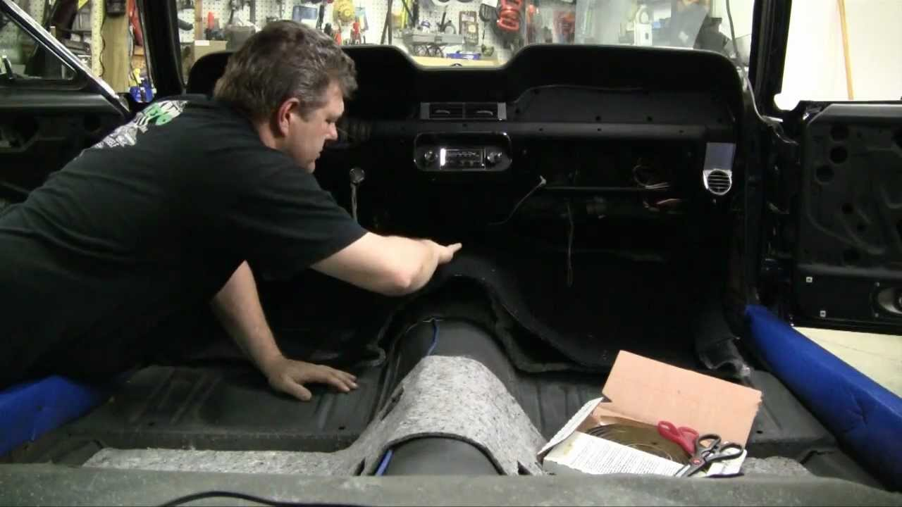 Episode 61 Classic And Muscle Car Carpet Install Tips And