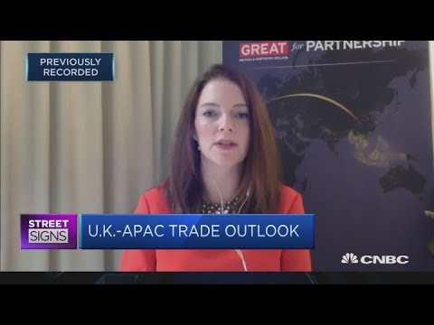 Asia Pacific is 'important' for the U.K.'s future, says trade commissioner