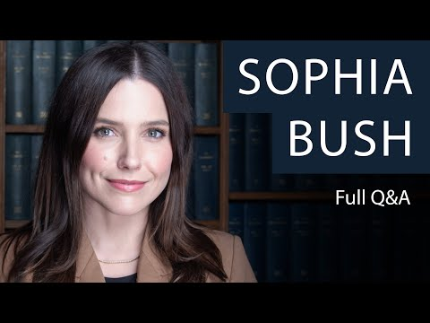 Sophia Bush   Full Q&A at The Oxford Union