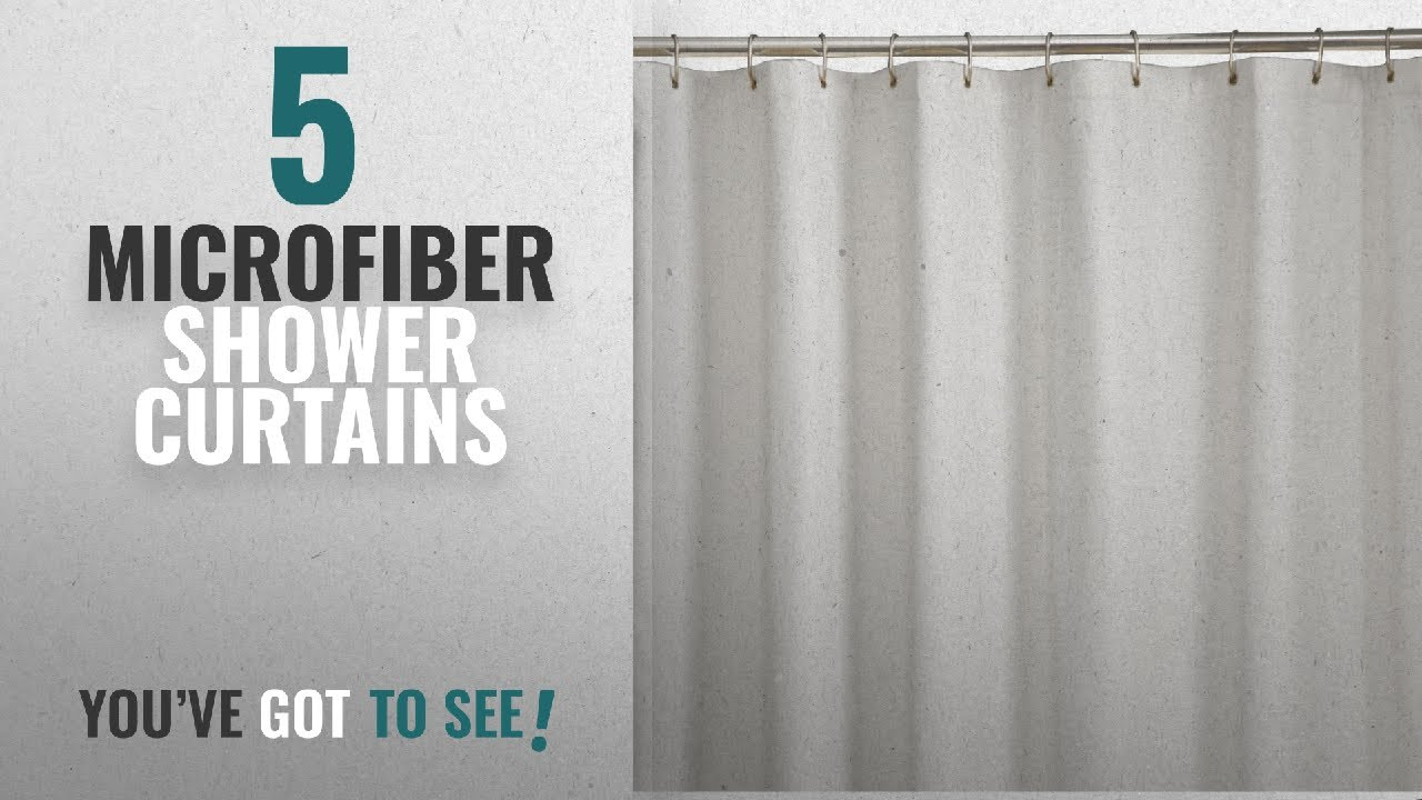 Top 10 Microfiber Shower Curtains 2018 Maytex Soft