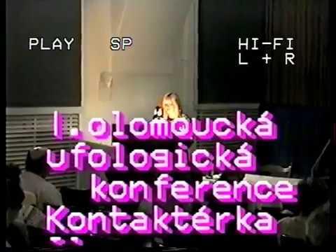 UFO CONGRESS Czechien  - ILona Podhrázská CC.- Subtitl  1996